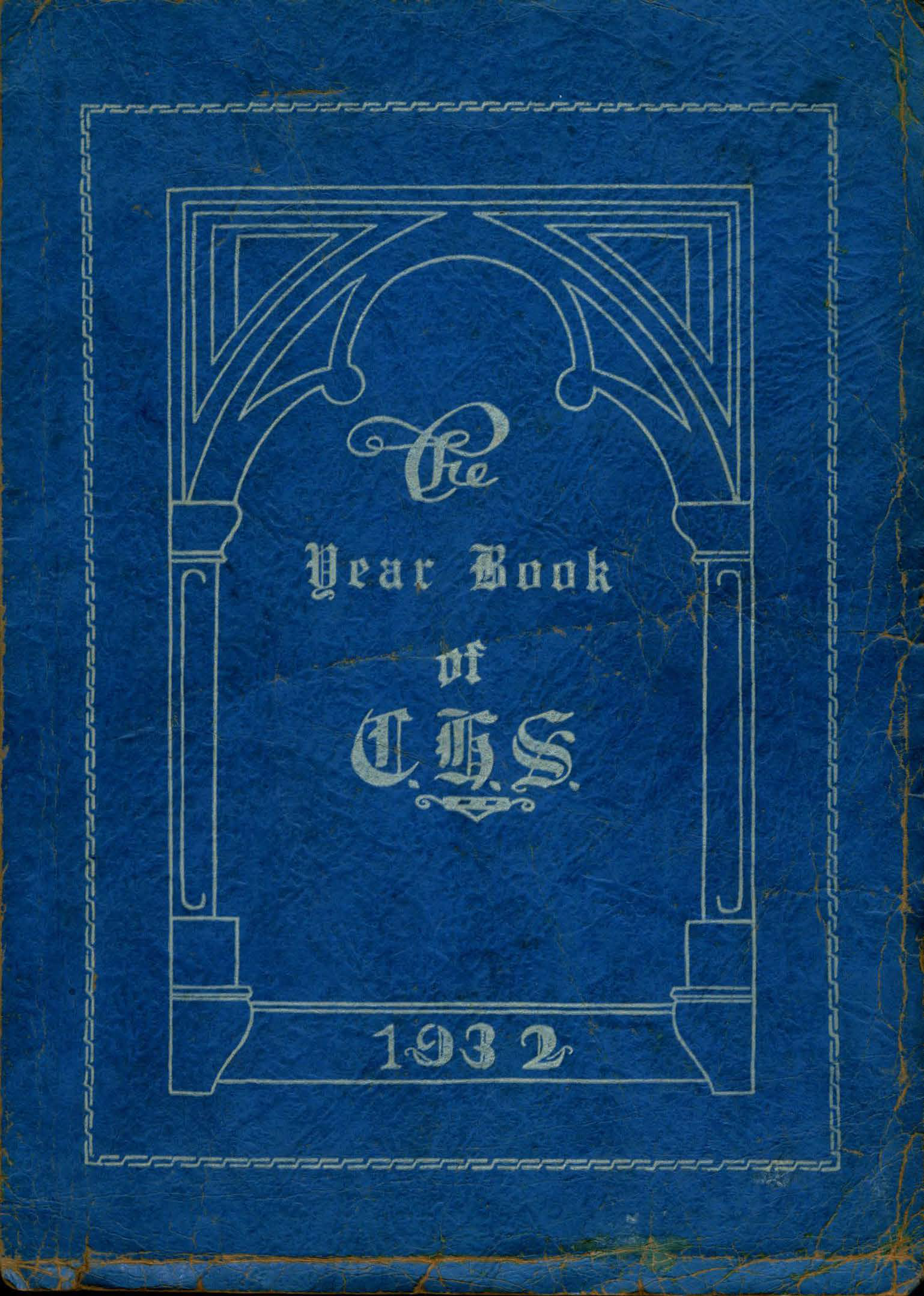 1932 Chelmsford High Yearbook 1