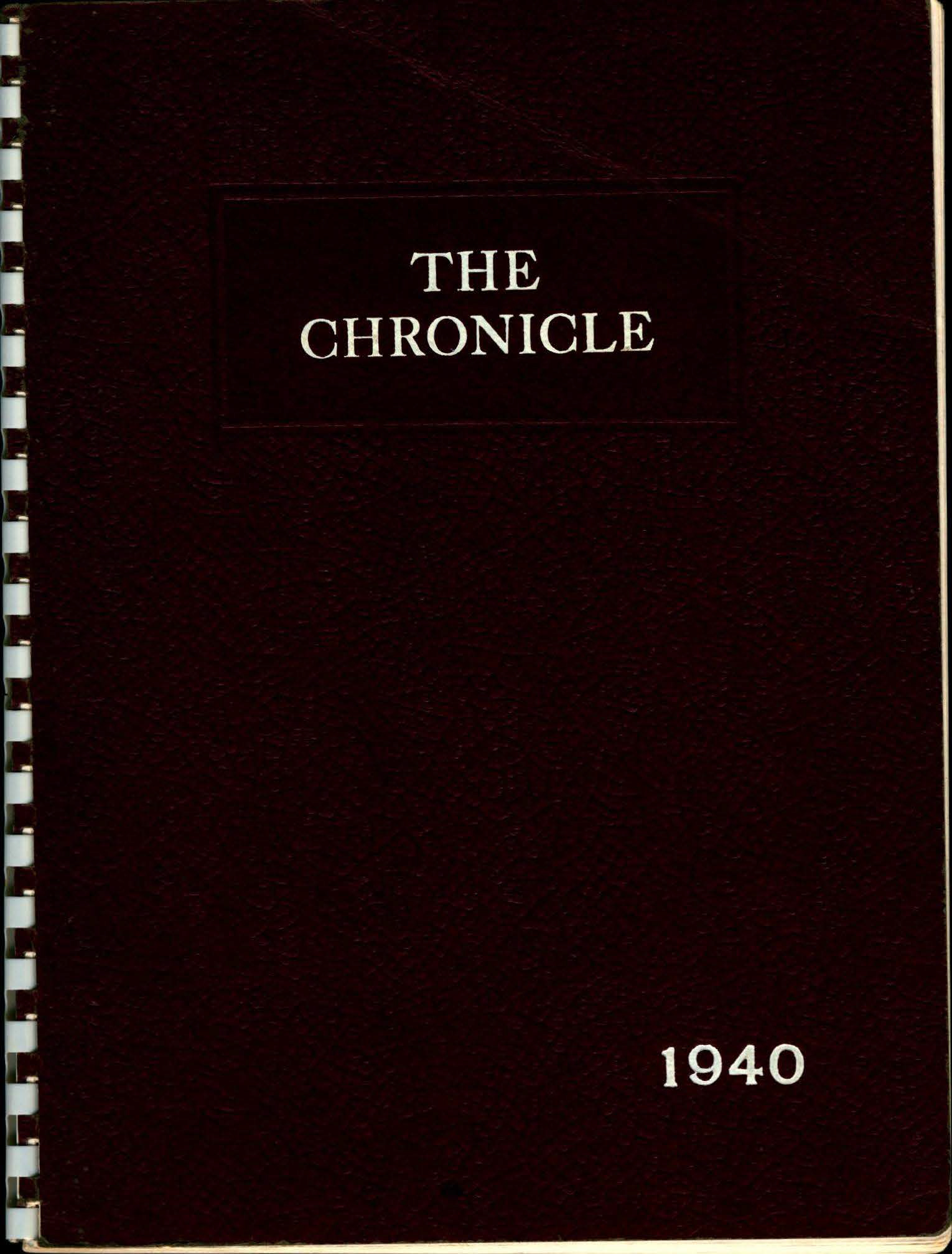 1940 Chelmsford High Yearbook 1