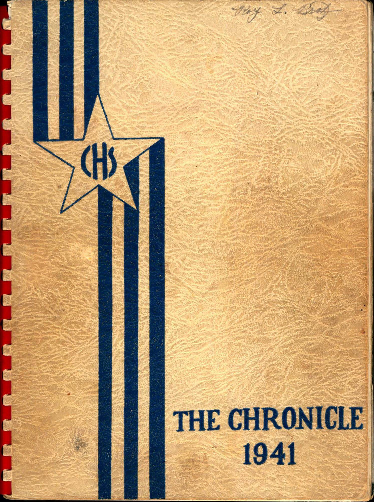 1941 Chelmsford High Yearbook 1