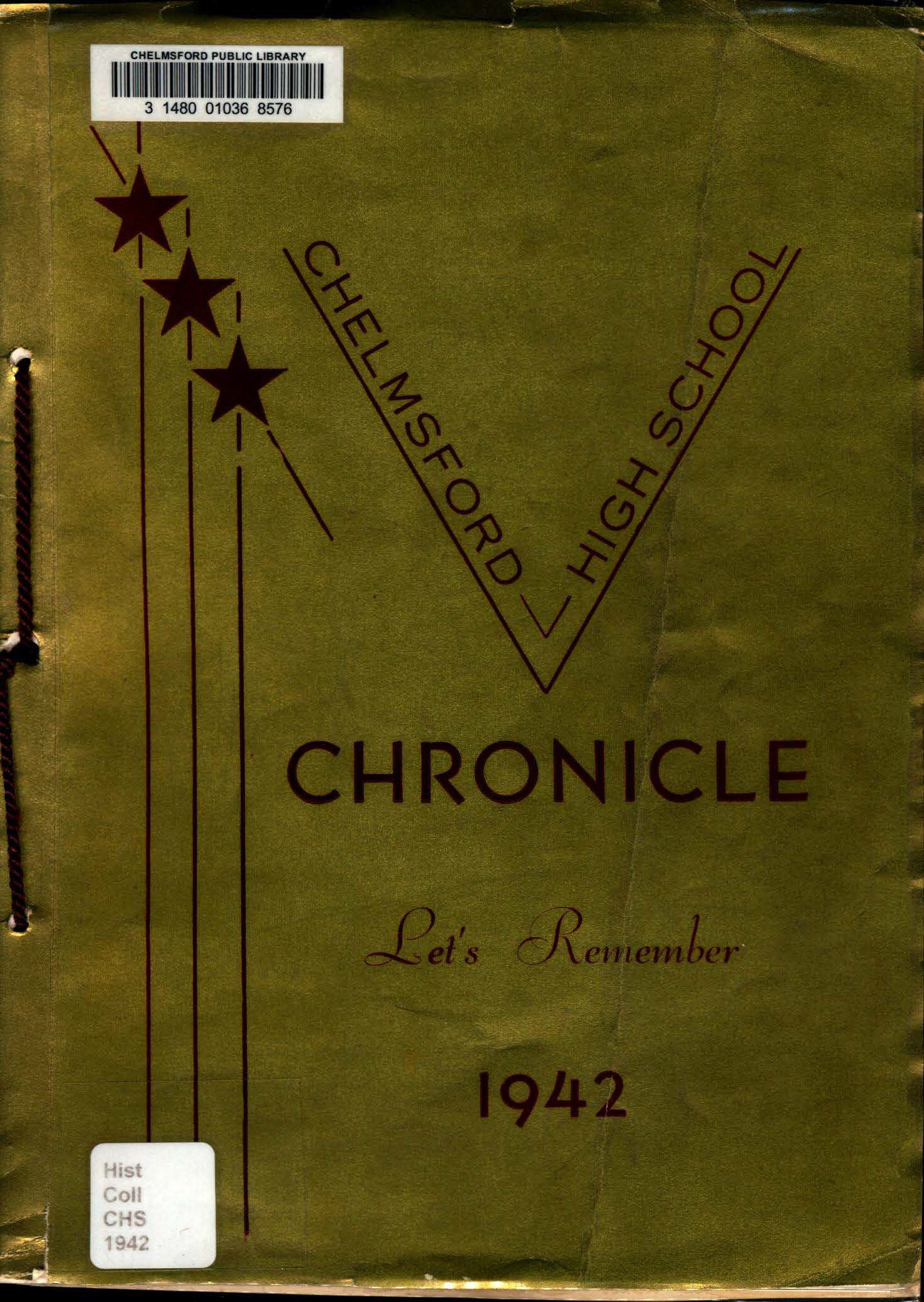 1942 Chelmsford High Yearbook 1