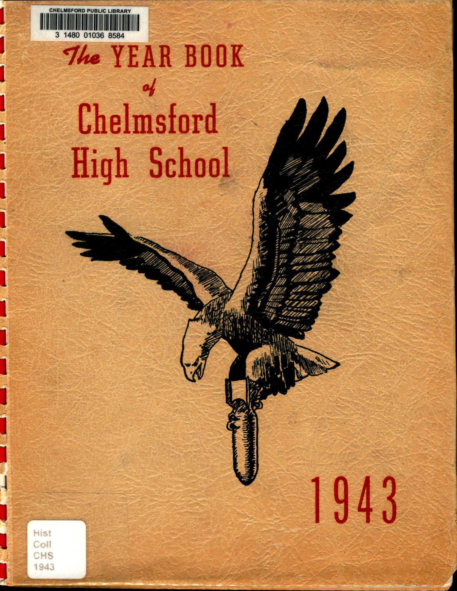 1943 Chelmsford High Yearbook 1