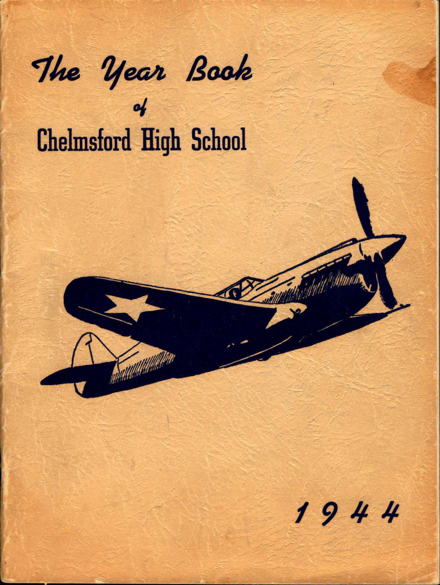 1944 Chelmsford High Yearbook 1