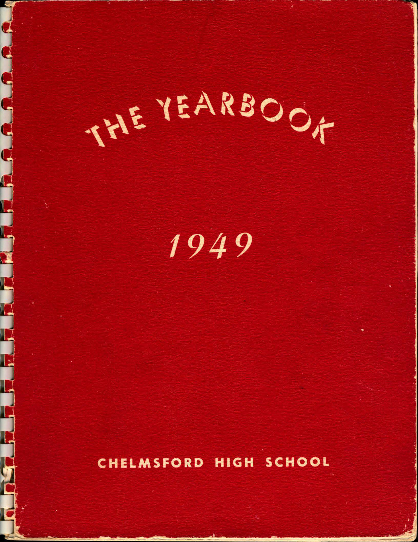 1949 Chelmsford High Yearbook 1