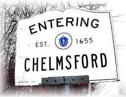 Entering Chelmsford Sign